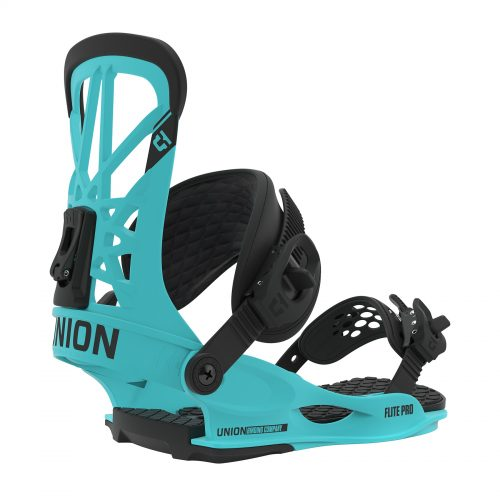 Snowboard Bindings Union Flite Pro - Hyperblue